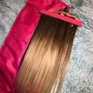 Luxy Hair 20in Ombré Blonde Clip in Extensions